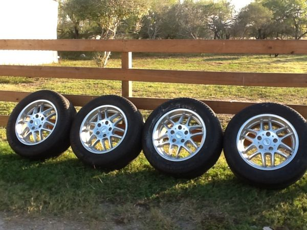 20 BBS Rims and Michelin Tires - $850 (Woodsboro)