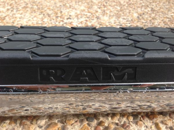 Factory Tubular Running Boards 2012 Dodge Ram 2500 - $100 (Port Aransas)