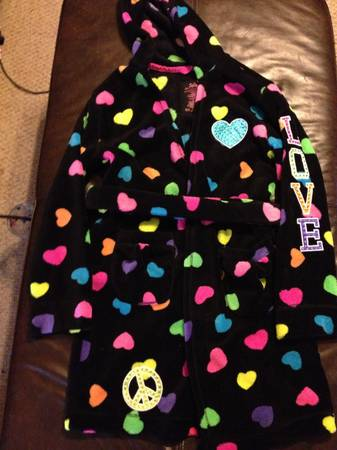 Justice robe with bling ) size 1012 LIKE NEW - x002415 (Flour Bluff CC)