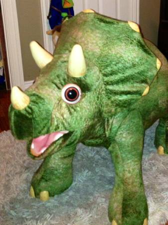PLAYSKOOL KOTA THE TRICERATOPS RIDE ON DINOSAUR  - $250 (corpus christi)