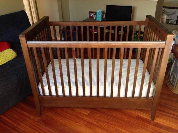 Amy Coe solid wood crib - $150 (Southside)