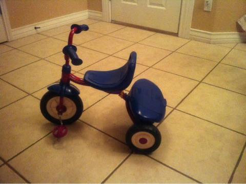 Radio flyer fold n go trike  - $25 (South side )