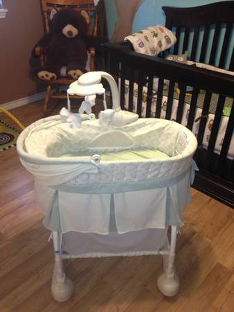 Kolcraft Cuddle N Care Rocking Bassinet - $45 (Southside)