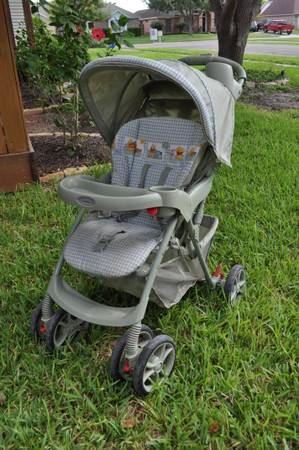 green Graco single stroller - $35 (southside)