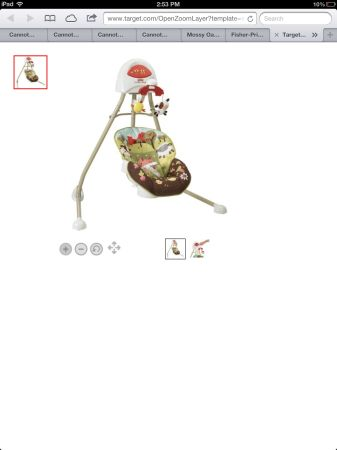 Fisher price cradle swing and travel swing - $40 (Refugio)