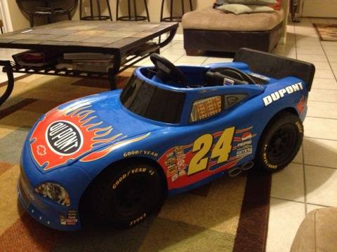 Kids Power Wheels NASCAR car - $125 (Padre Island)