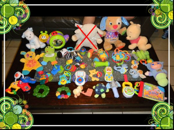 LOTS OF BABY TOYS - $1 (corpusairline )