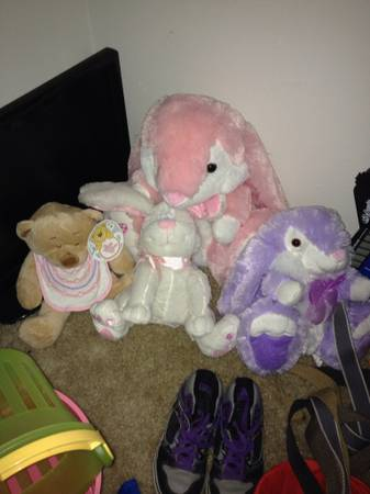 GREAT items for lesssize 6bys 3-4g infant g EASTER,shoes, clothes   - $1 (Staples)