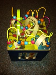 Zany zoo wooden activity cube - $39 (Corpus Christi - south side)