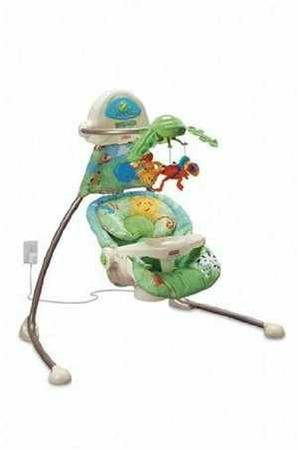 Fisher price jungle theme swing  - $1 (Ss)