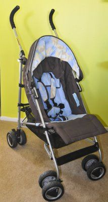 Wendy Bellissimo Brown, Blue and Camo Stroller- Gently Used - $25 (Rockport)
