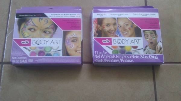 body art body and face painting - $8 (airline)