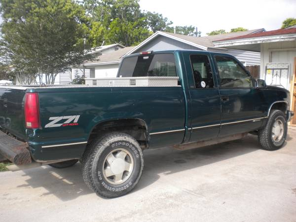 97 Chevy Z71 Ext. Cab 4 Sale - $3250 (Flour Bluff)