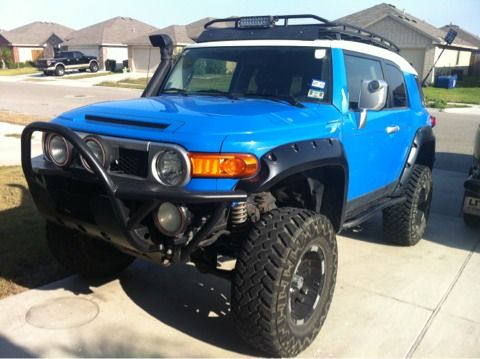 Toyota FJ Cruiser 6quot lift 35quots - $19500 (CC)