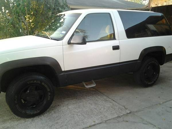 $3800 Or Trade 97 Chevy Tahoe Z71 4x4 - $3800 (Cc tx)