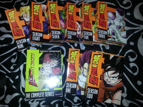 DRAGON BALL Z AND GT COLLECTION - $75 (cc ss)