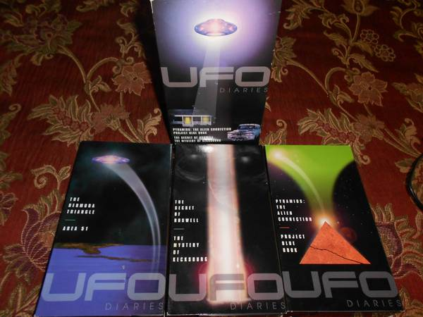 UFO DIARIES 3 VOLUME SLIP BOX SET - $10 (CORPUS)