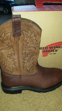 Brand New Mens Red Wing Steel Toe Boots (Annaville)