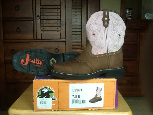 Justin Gypsy Boots size 7.5 - $30 (Corpus Christi)