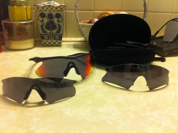 Oakley M frames with extra lenses - $150 (Callalen)