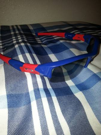 Oakley Flakk - Red and Blue - $120 (Portland)