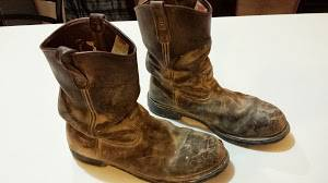 Mens 11 12 D Red Wing Boots - $10 (Alice,TX)