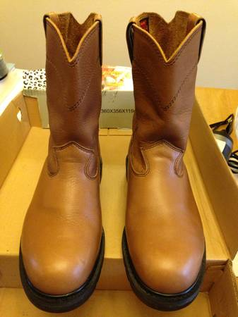 Worx by Red Wing steel toe work boots size 11