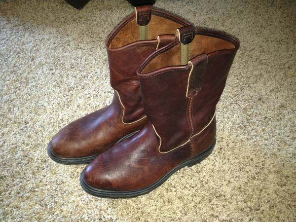 Red Wing 11 Pull-on Boots (size 9.5) - $100 (Padre Island)