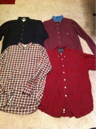 Mens large15 piece shirt lot - $65 (Corpus Christi Banquete tx)