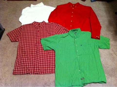 Mens medium 23 piece shirt lot - $60 (Corpus Christi Banquete tx)