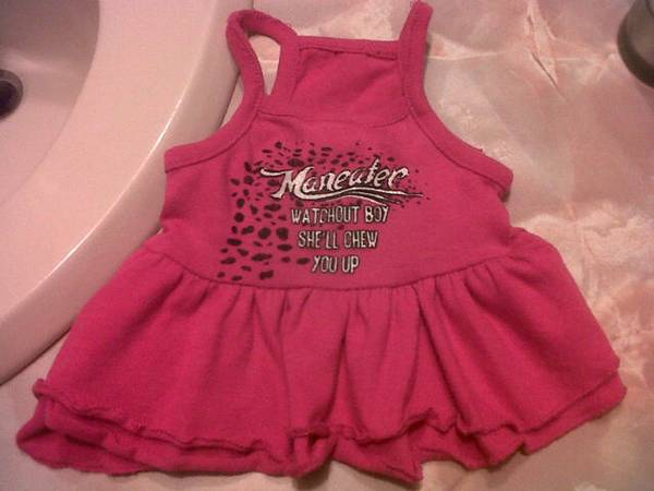 maneater (lil pink dress)for your lilprincess puppy - $8 (nw corpus)