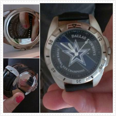 Dallas Cowboys Super Bowl Fossil Watch - $25 (C.C.)
