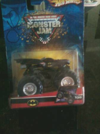 batmobile monster truck (autographed) - $8 (corpus)