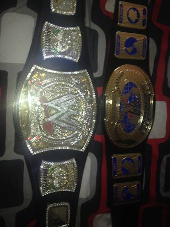 2 WWE Commemorative Belts (Southside CC)