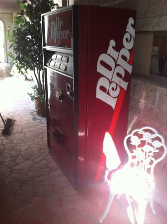 dr pepper vending machine for sale