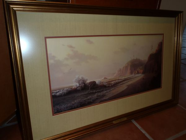 Dalhart Windberg Signed Limited Edition Framed Print - $125 (The Island)