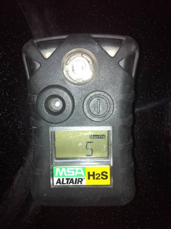 H2S Monitor - $20 (Rockport)