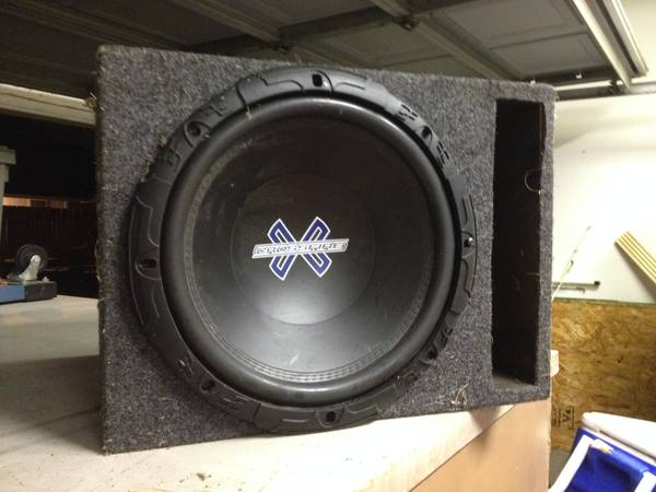 crossfire x subwoofer - $50 (the lakes)