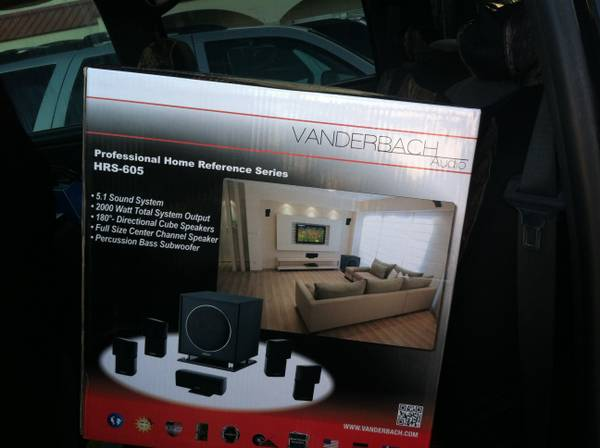 2 Vanderbach Audio home speaker system HRS-605 - $200 (corpus christi)