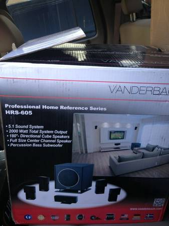 Vanderbach Audio cube speakers and subwoofer - $200 (South side CC)