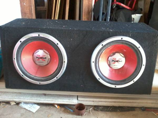 2 sony xplod 12 speakers and 1000 watt  - $250 (ingleside)