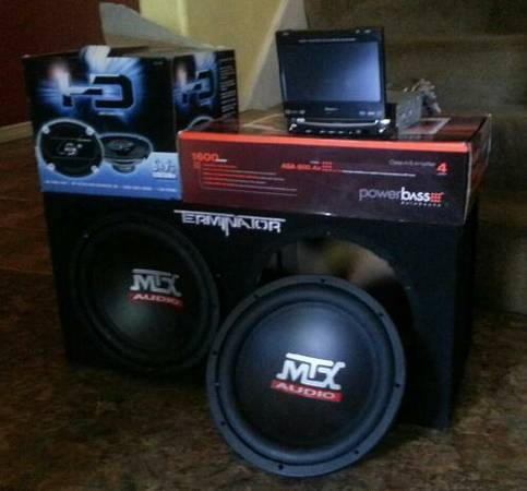 Full Car Audio System - $400 (south side )