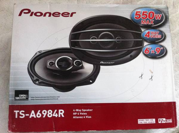 Pioneer 4 - way 6x9 speakers - $110 (Corpus Christi )