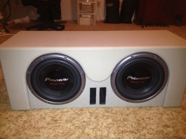Custom Speaker Box, Amp, Subs - $750 (Port Lavaca, Tx)