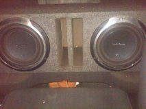 Rockford Fosgate 2 P3 Punch 10 subwoofers in ported box - $200 (Corpus Christi)