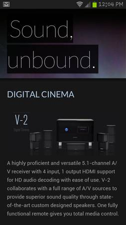 Madrid Audio home theater system - $300