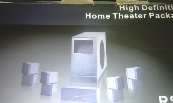 brand new in box Digital HD Surround Sound 1500 Watts - $300 (corpus )
