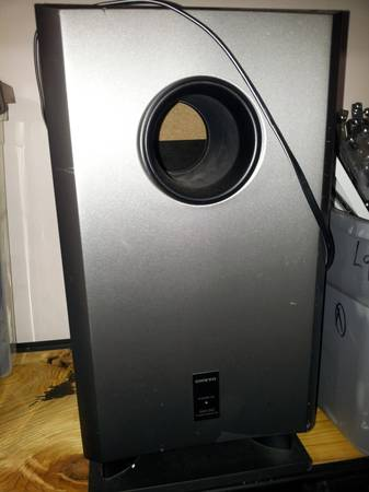 onkyo powered subwoofer for surround sound systems - $40 (Rockport)