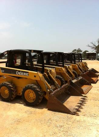 SKID STEERS FOR SALE or RENT - $16500 (Gonzales, Texas)