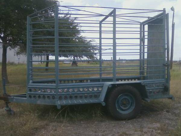 Stock Trailer Heavy Duty Custom Built 4x10 - $800 (Bishop)